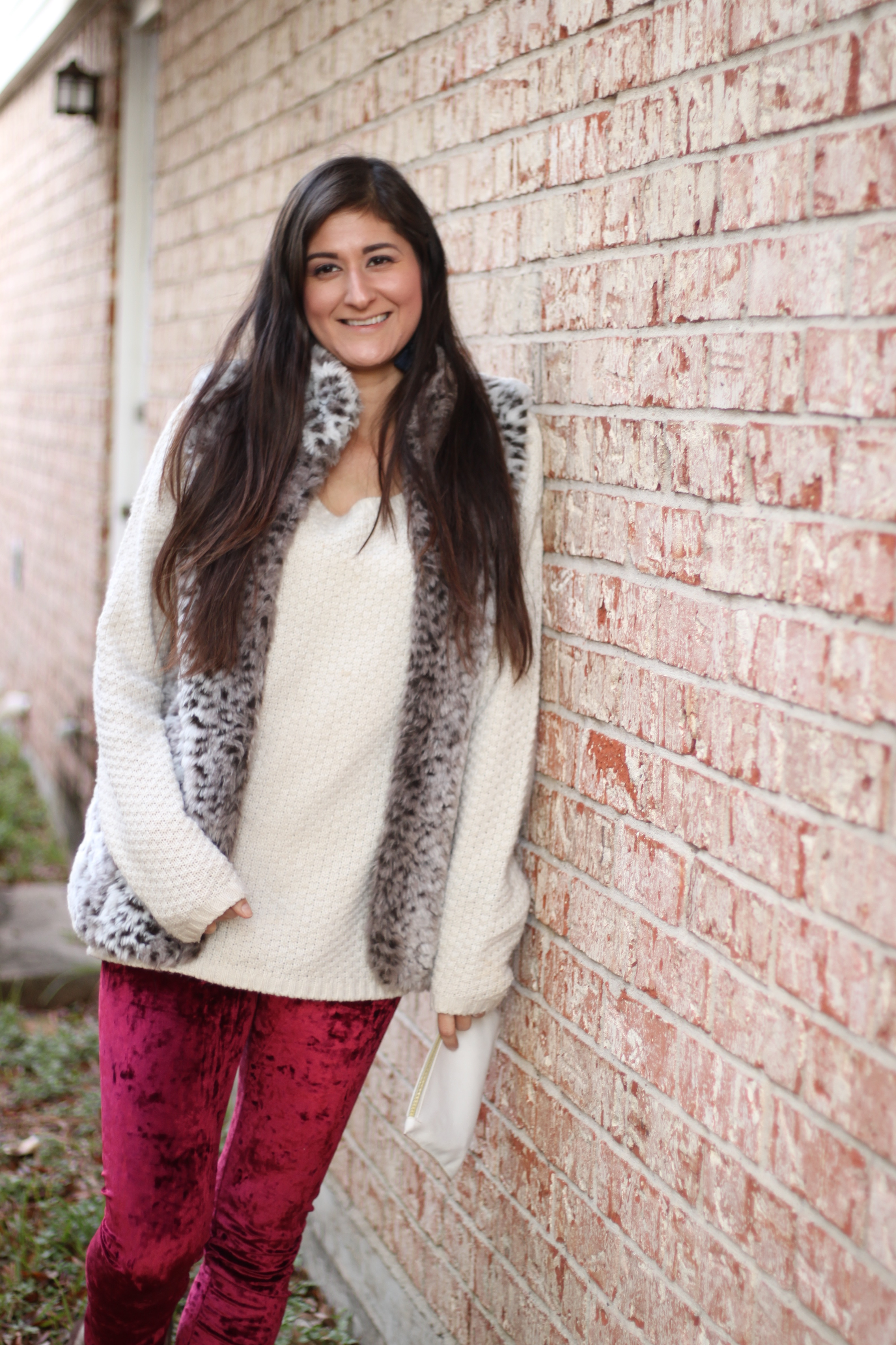 Velvet legging.. Yes, please!