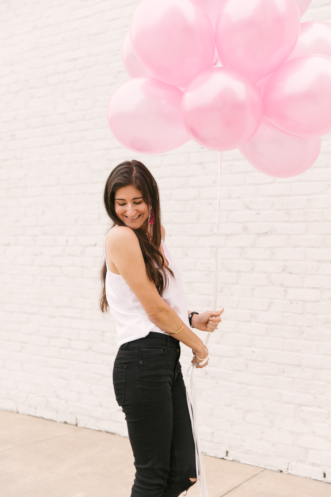 Birthday Picture Ideas : Birthday Month - The Fashionable Maven #springstyle #weekendlook #birthdayparty #girlsnightout