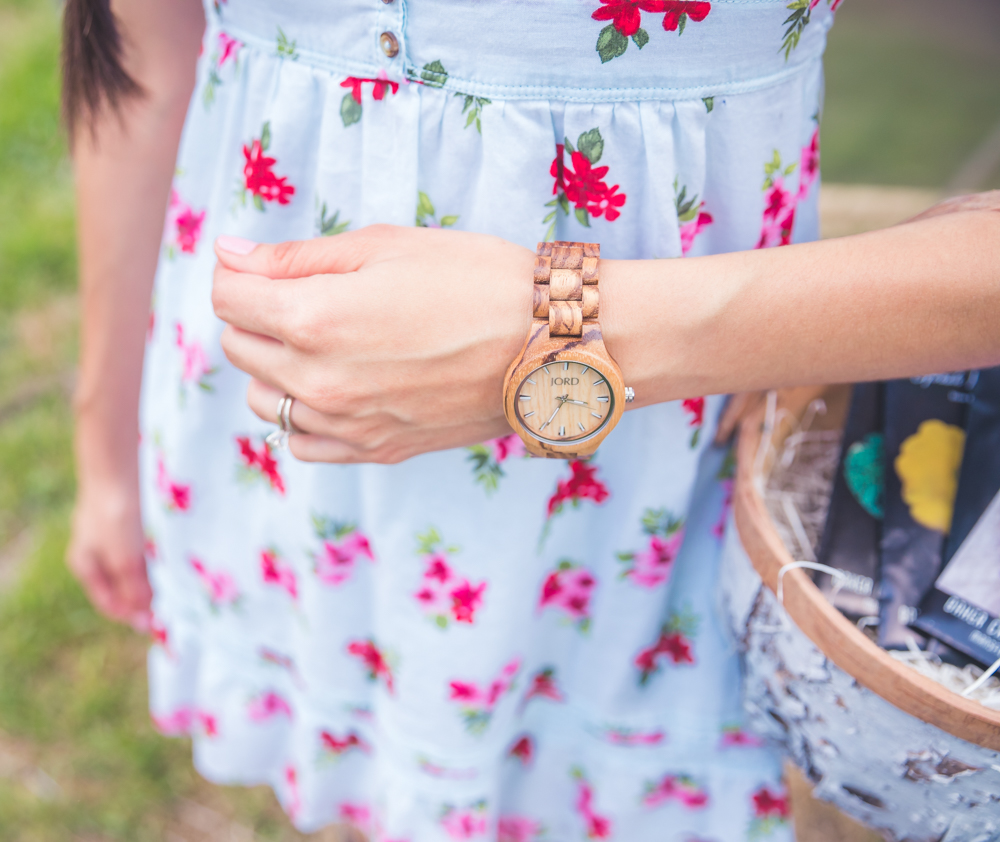 How to style your wooden watch: The Fashionable Maven