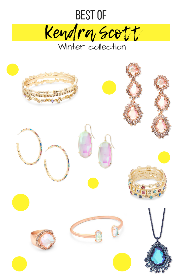 Best of Kendra Scott Winter collection. Top jewelry picks for the holidays. Gift Ideas.   The Fashionable Maven