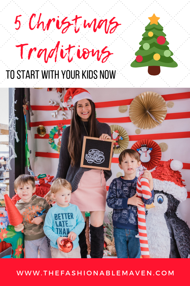 5 Christmas Traditions to start with your kids right now | The Fashionable Maven