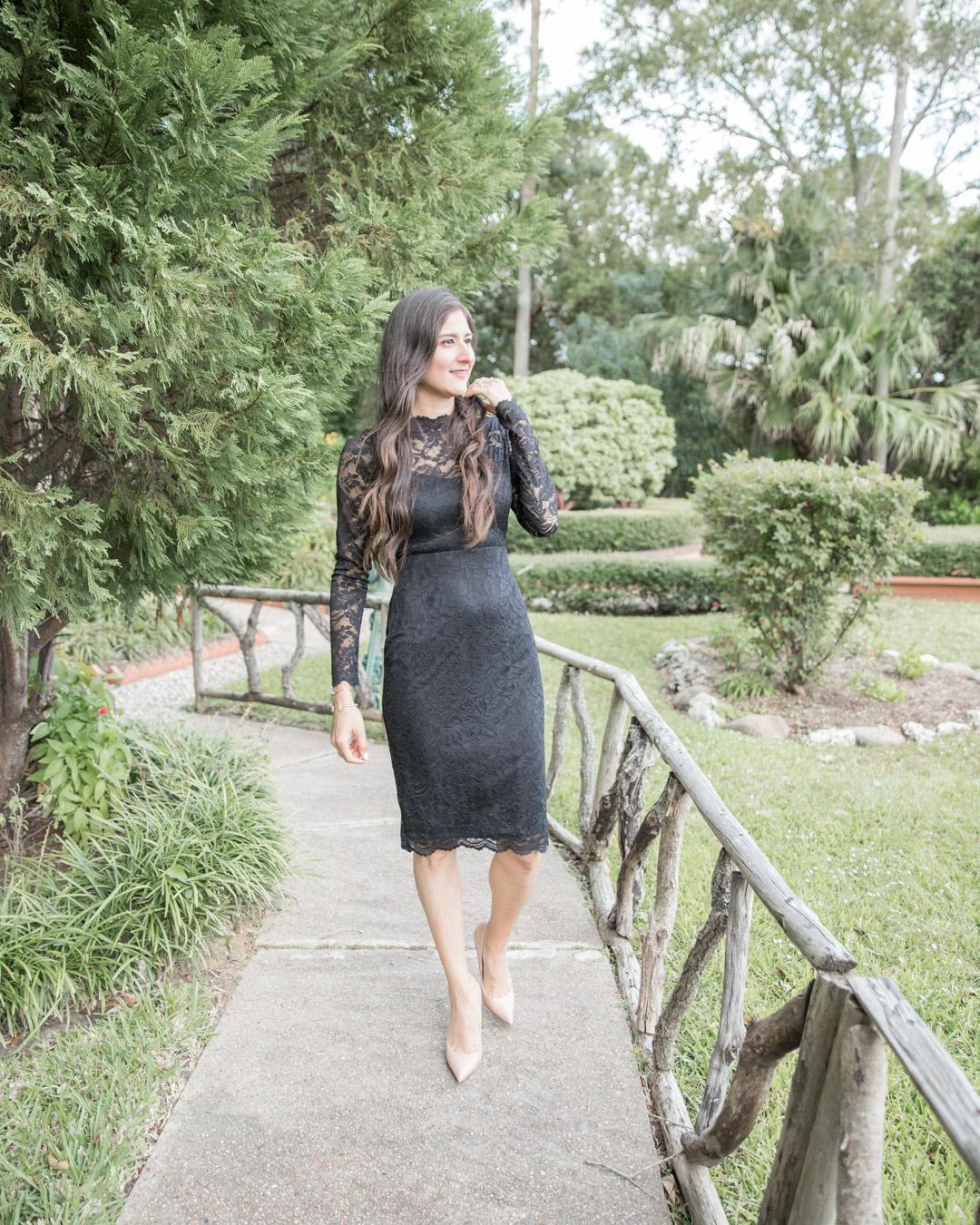 Fall Wedding Style: little Black dress |The Fashionable Maven