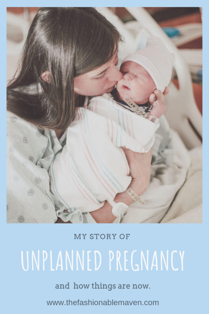 Unplanned pregnancy story. : The Fashionable Maven