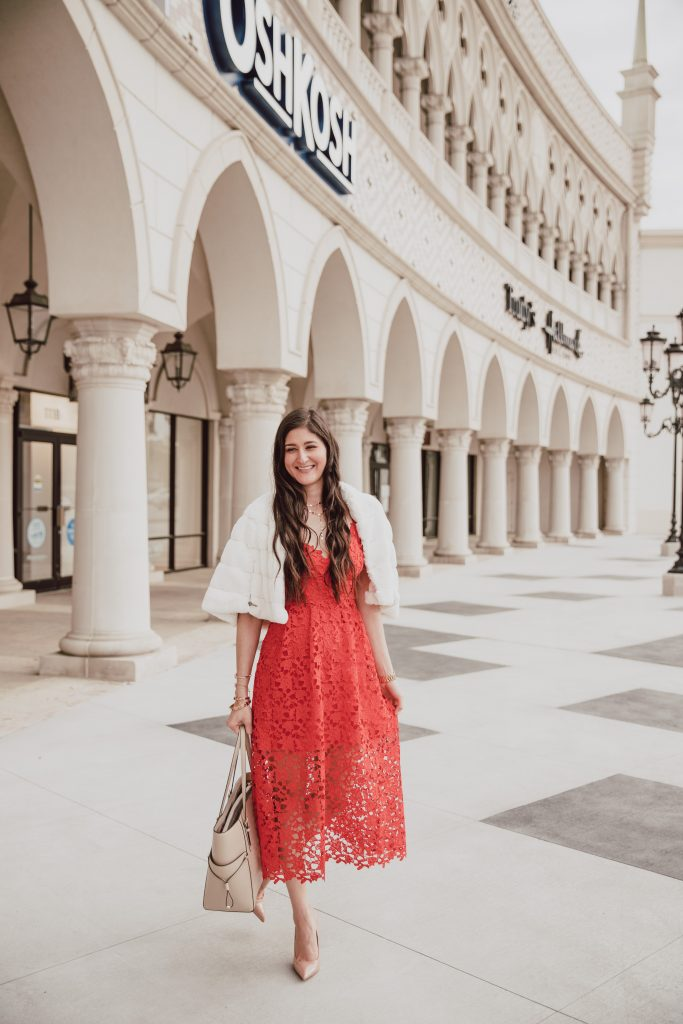 Red crochet dress great for date night, wedding guest style, or Sunday  best. Nordstrom dresses summer. Fashion blogger outfit #weddingguestoutfit #reddress #datenightoutfit #nordstrom