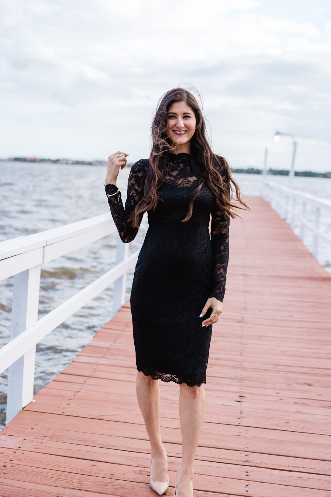 Chic Fall Wedding Guest Style Lace Dress Of My Dreams The Fashionable Maven,Black Woman Wedding Dress
